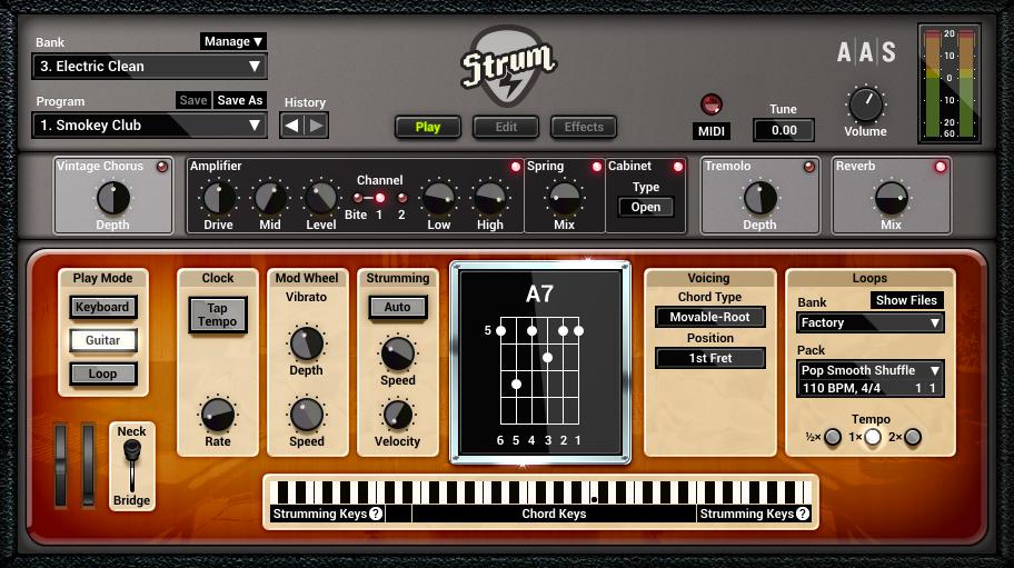 دانلود رایگان وی اس تی ملودی نوازی و ریتم نوازی گیتار Applied Acoustics Systems Strum GS-2