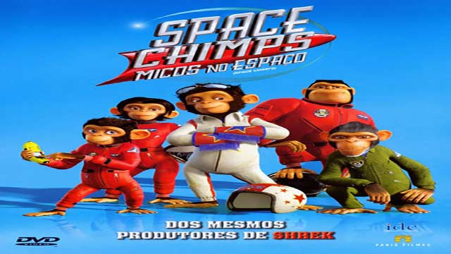انیمیشن میمون های فضایی-دوبله-Space Chimps 2008
