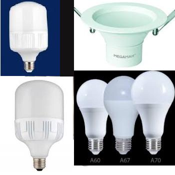 فروش انواع لامپ های ال ای دی به مشتریان گرامی