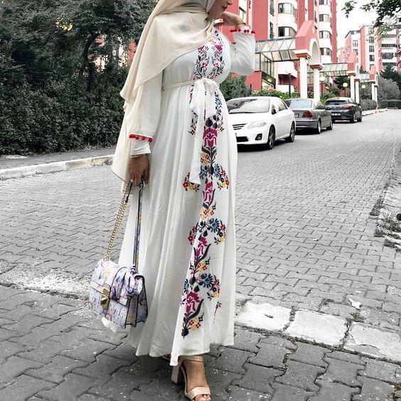 مدل مانتو عروس پوشیده شیک 98