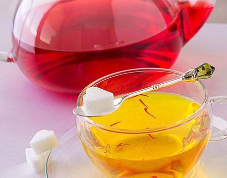 روش دم کردن زعفران,دمنوش زعفران,زعفران ایرانی