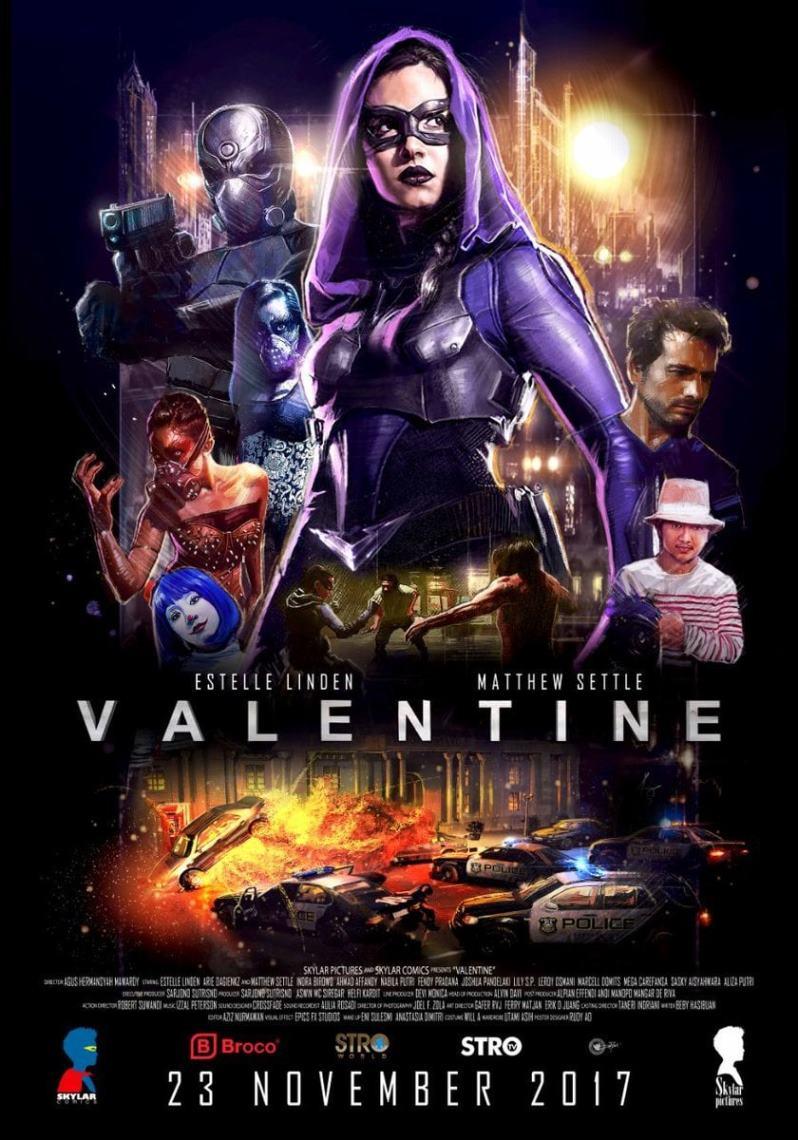 دانلود فیلم Valentine 2017 با زیرنویس فارسی