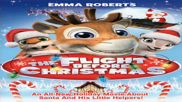 انیمیشن نیکو گوزن پرنده-دوبله-2008 The Flight Before Christmas