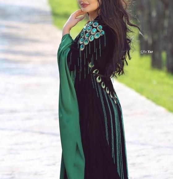 انواع مدل لباس کردی زنانه سقزی