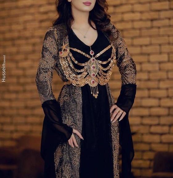 مدل لباس کردی زنانه سنندجی