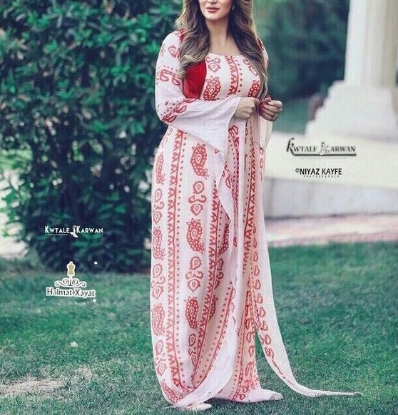 مدل لباس کردی زنانه مهابادی