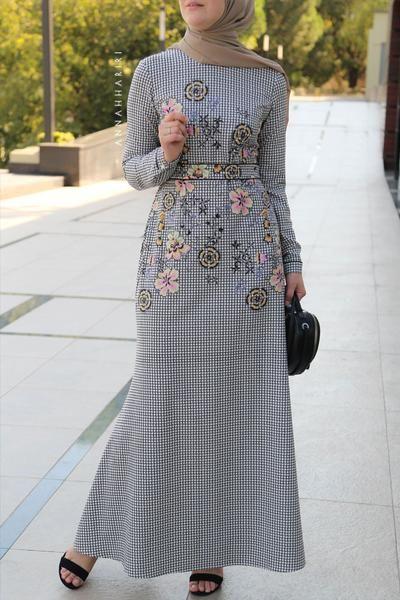 مدل مانتو بلند برای تابستان