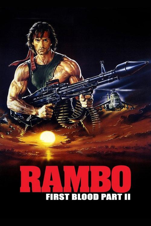 دانلود دوبله فارسی فیلم Rambo: First Blood Part II 1985