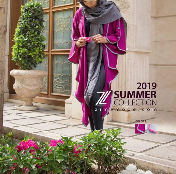 مدل مانتو تابستانی از اینستاگرام