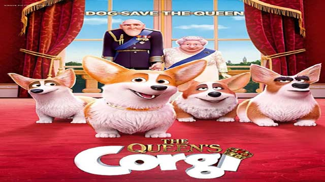انیمیشن سگ ملکه-دوبله-2019 The Queen's Corgi