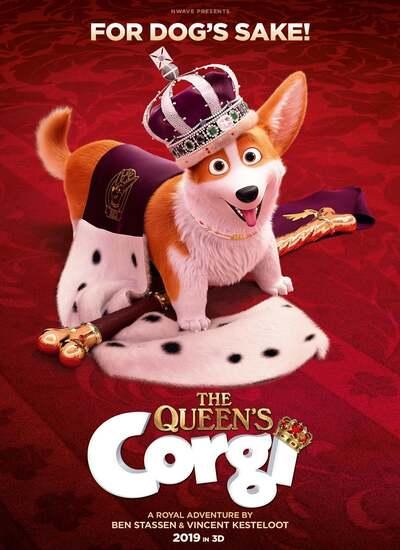 دانلود انیمیشن سگ مورد علاقه ملکه 2019 دوبله فارسی The Queens Corgi