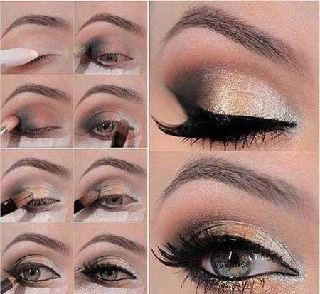 آرایش چشم جذاب و زیبا