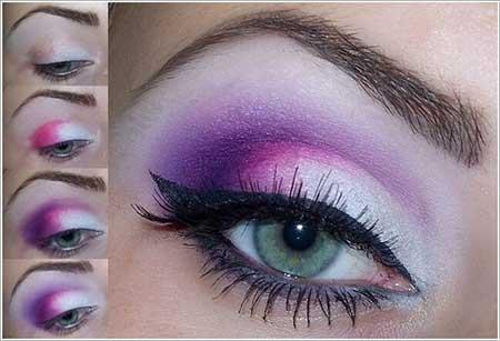 مدل آرایش چشم ، مدل آرایش زیبای چشم