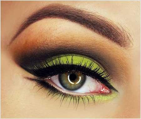 مدل آرایش چشم , مدل آرایش زیبای چشم