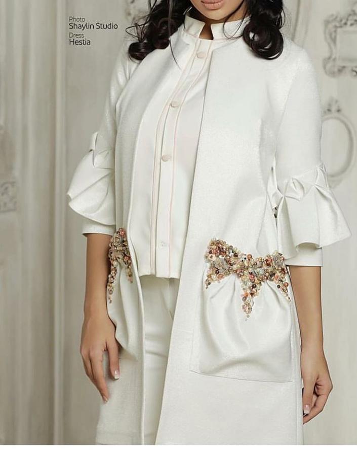 مدل مانتو و لباس عروس اینستاگرام 3