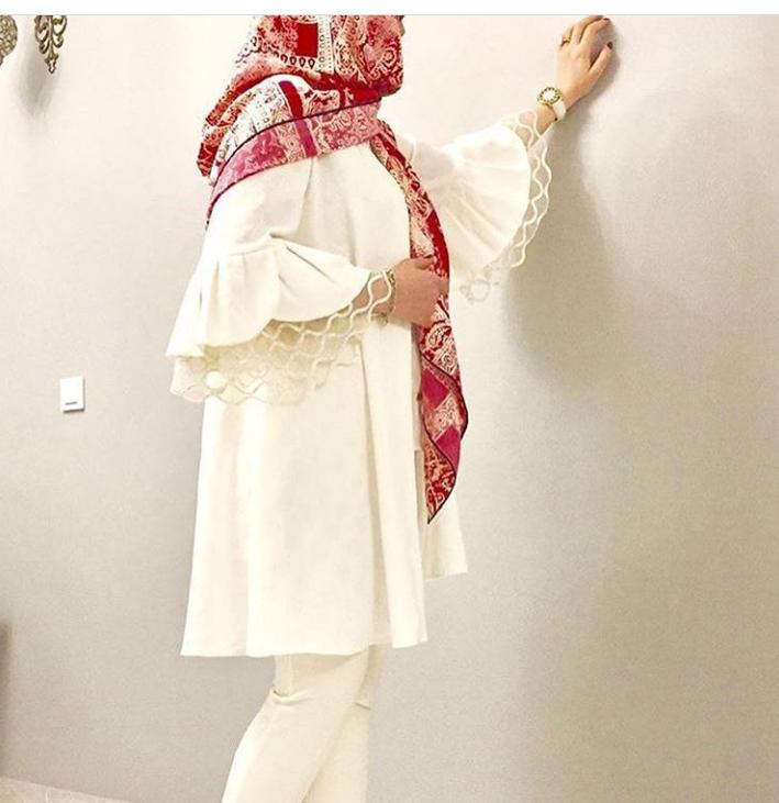 مدل مانتو و لباس عروس اینستاگرام 10