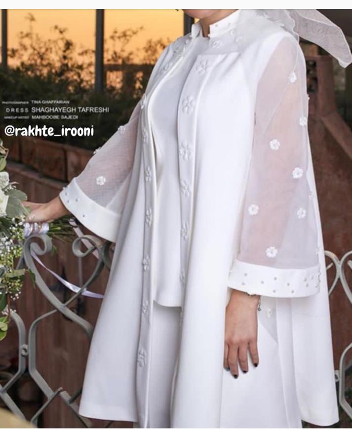 مدل مانتو و لباس عروس اینستاگرام 7