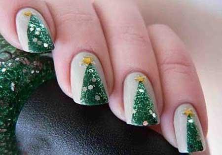 مدلهای ناخن ,طراحی روی ناخن,طراحی روی ناخن کریسمس