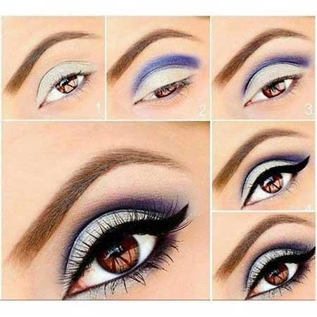 آرایش چشم,آموزش آرایش چشم,آموزش آرایش