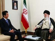 دیدار نخستوزیر ژاپن با رهبر انقلاب