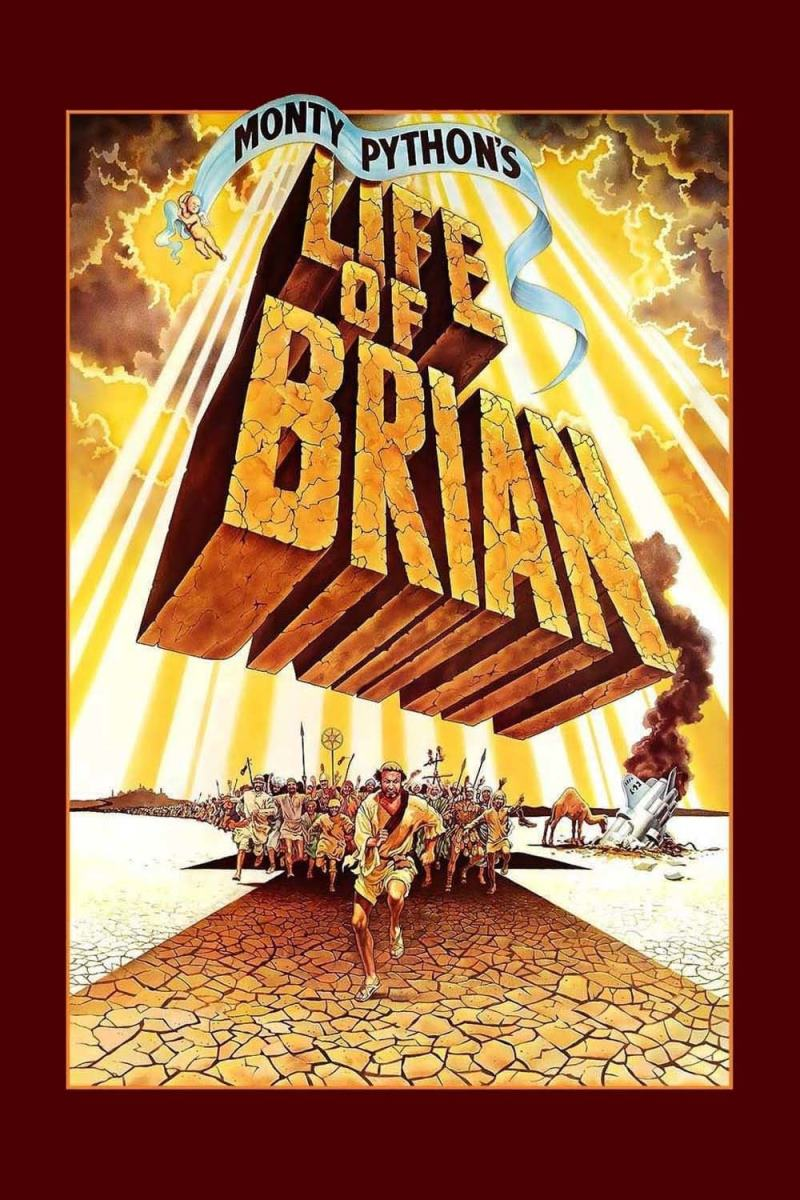 دانلود فیلم Life of Brian 1979 - زندگی برایان به روایت مانتی پایتان 1979