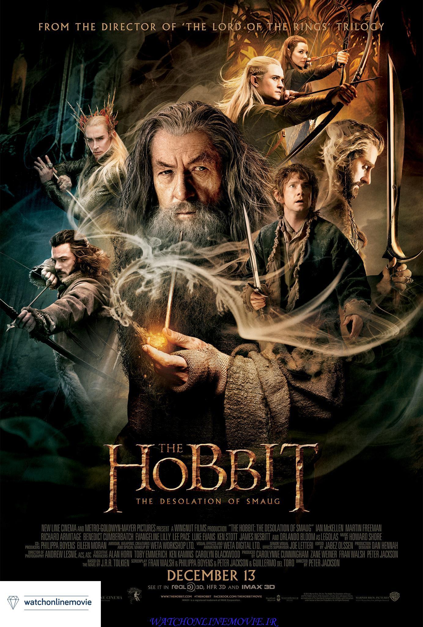 فیلم سینمایی هابیت : برهوت اسماگ (هابیت 2) The Hobbit 2 The Desolation of Smaug 2013+زیرنویس فارسی