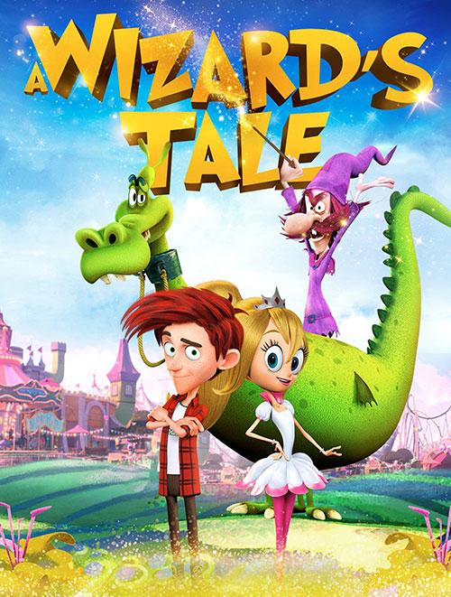 دانلود کارتون افسانه جادوگر با دوبله فارسی A Wizard's Tale 2018 BluRay