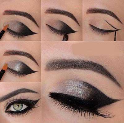 آرایش چشم ,مدل های جدید آرایش چشم ,آرایش چشم دخترانه
