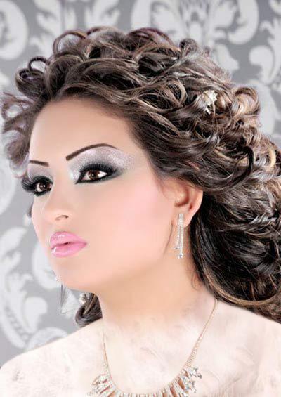 مدل آرایش عروس,عکس مدل آرایش عروس,عکسهای مدل آرایش عروس,آرایش عروس مدل,مدل های آرابش عروس