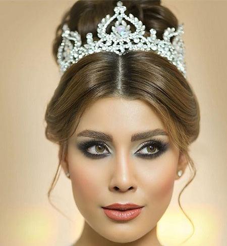 آرایش عروس,مدل آرایش عروس,جدیدترین مدل آرایش عروس