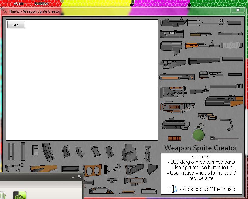 نرم افزار کاربردی برای ساخت انواع سلاح ها با حجم کم (اسپرایت ساز)