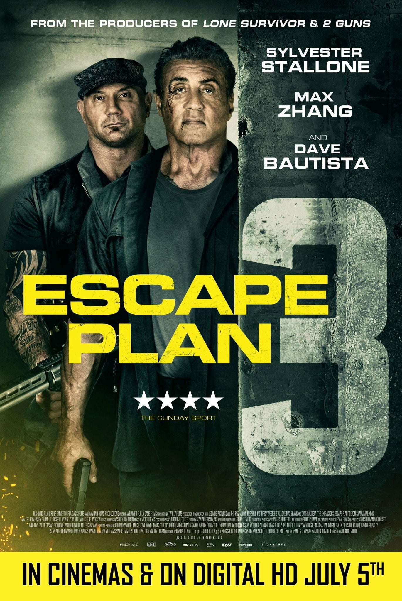 دانلود فیلم Escape Plan The Extractors 2019