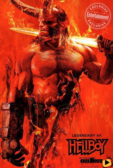 دانلود فیلم پسر جهنمی Hellboy 2019 با زیرنویس فارسی چسبیده