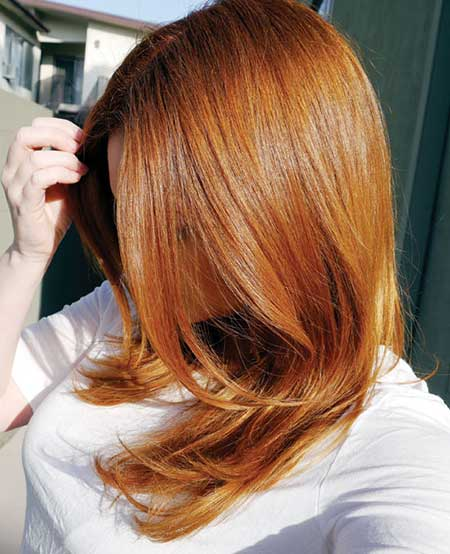 انواع رنگ مو با عکس