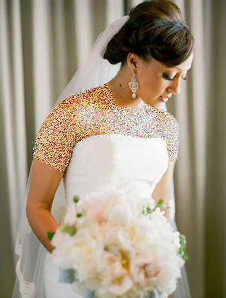 بهترین مدل موی عروس برای پوست های سبزه