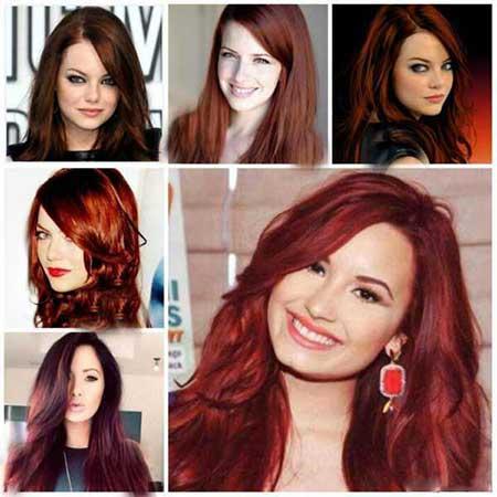 مدل های رنگ مو