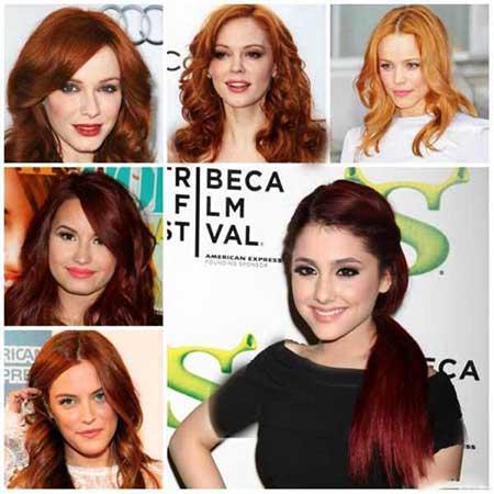 مدل رنگ موی جدید