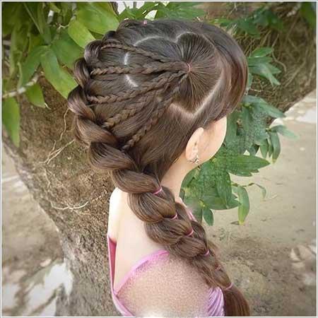 مدل موهای منحصر به فرد و شیک برای دختر بچه ها