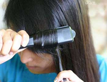 فرکردن   مو,موهای فر,موهای صاف