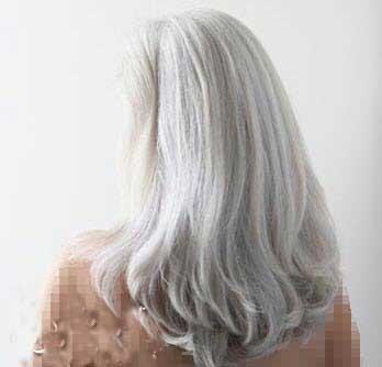 موی خاکستری,مدل موی خاکستری زنانه