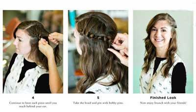 بافت مو , آرایش مو در تابستان