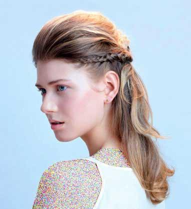مدل زیبای بافت مو,موهای بلند,چند مدل بافت مو