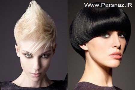 عکس مدل مو فشن دخترانه,انواع مدا موفشن دخترانه,مدل موهای کوتاه و فشن دخترانه