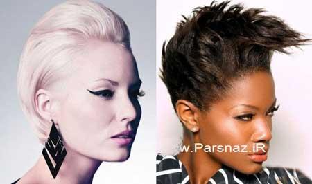 انواع مدل مو فشن دخترانه,مدل مو فشن,مدل موهای کوتاه و فشن دخترانه
