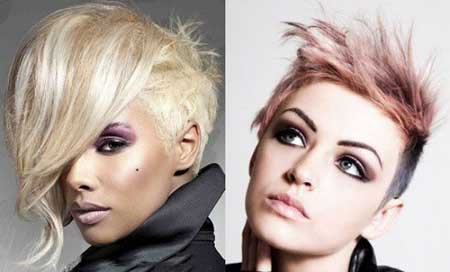 جدیدترین مدل مو کوتاه و فشن دخترانه