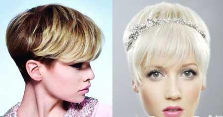 مو فشن دخترانه,انواع مدل مو فشن دخترانه,مدل موهای کوتاه و فشن دخترانه