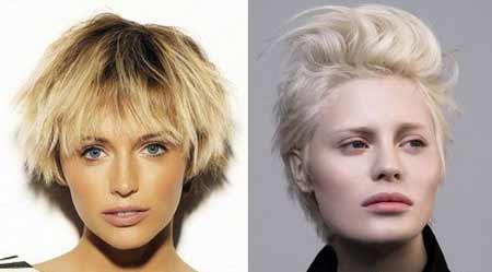 تصاویر مدل موهای کوتاه و فشن دخترانه