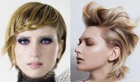 مدل موهای کوتاه و فشن دخترانه,انواع مدل مو فشن,مو فشن دخترانه