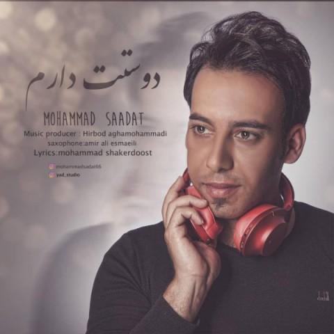 دانلود آهنگ جدید محمد سعادت به نام دوست دارم