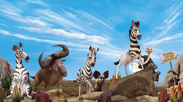 انیمیشن گورخری به نام کومبا-دوبله-Khumba 2013